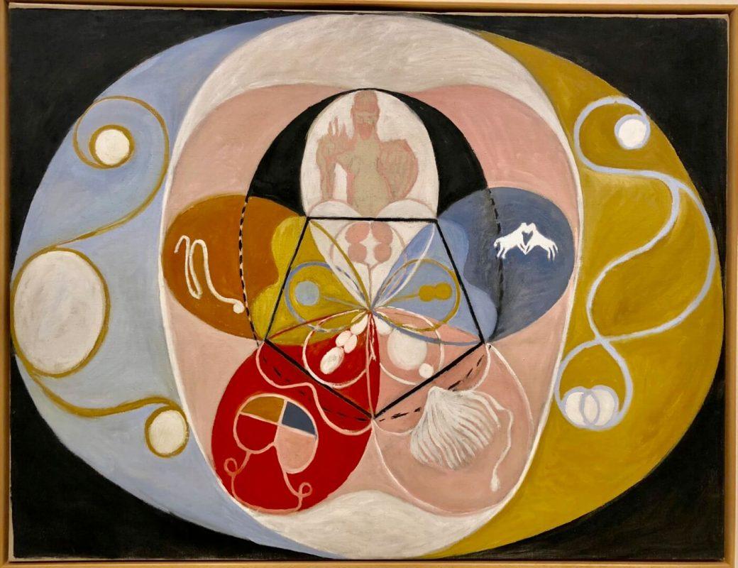 ההתגלות של הילמה אף קלינט - הציירת המיסטית וחלוצת האומנות המופשטת.