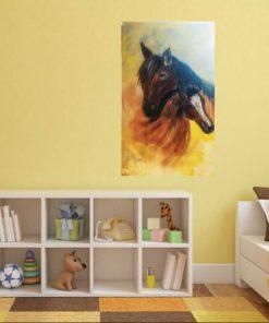 תמונה של סוסים לבית ציור